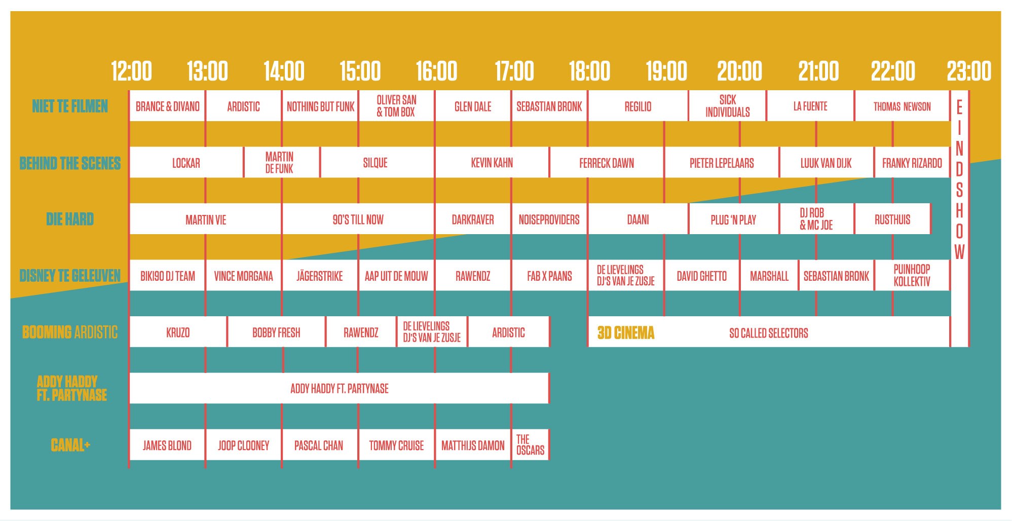 TIMETABLE!